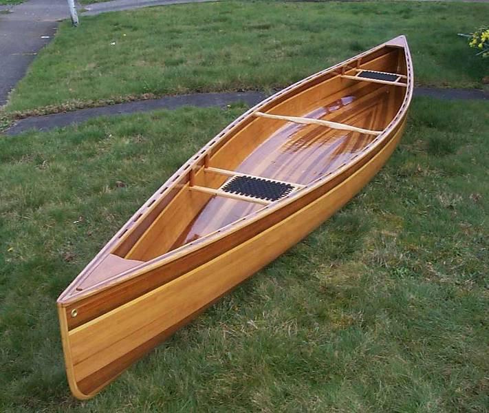 Самодельная узкая лодка